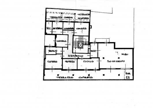 attico pordenone vendita  centro  de filippo turchet s.a.s. di daniele turchet c.