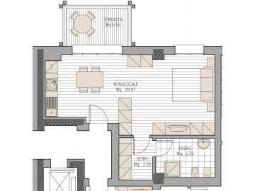 Appartamento PORDENONE vendita  CENTRO  Agente Immobiliare Bruno Bari