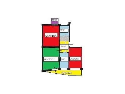 Appartamento PORDENONE vendita  CENTRO Via DE PAOLI,36/A Agente Immobiliare Bruno Bari