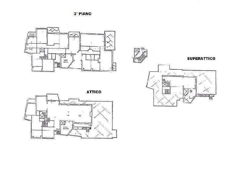 Attico affitto ROMA (RM) - 99 LOCALI - 750 MQ